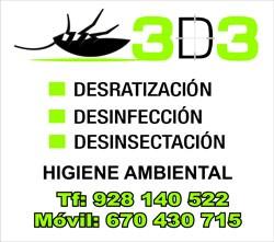 3D3 Control de Plagas