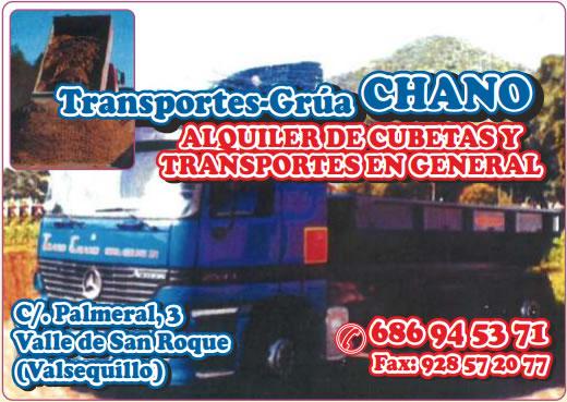 TRANSPORTES GRUA CHANO